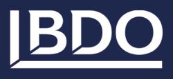 Logo BDO CONSULTING GMBH