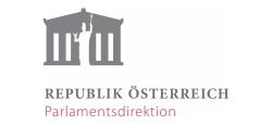 Logo Republik Österreich Parlamentsdirektion